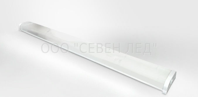 Светильник светодиодный ЛПО 2х36 с акустическим датчиком 32Вт