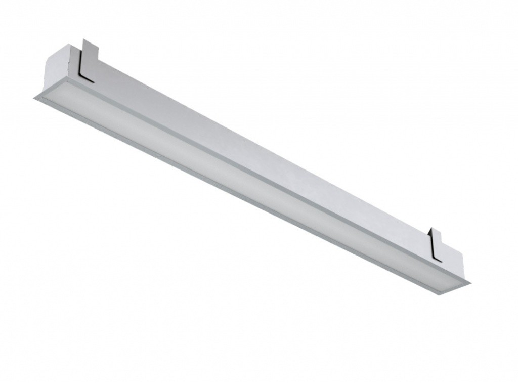 Модульный встраиваемый светодиодный светильник GD-104V-40