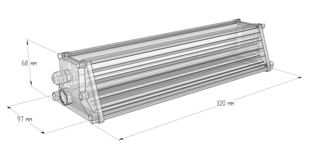 Светильник универсальный LuxON Promline 50W