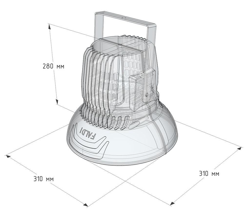 Светодиодный светильник APOLLO-150W