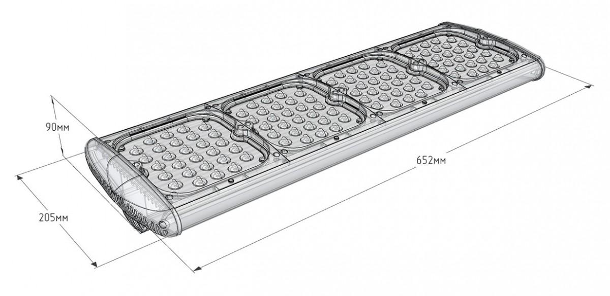 Промышленный светодиодный светильник UniLED Lite 160W